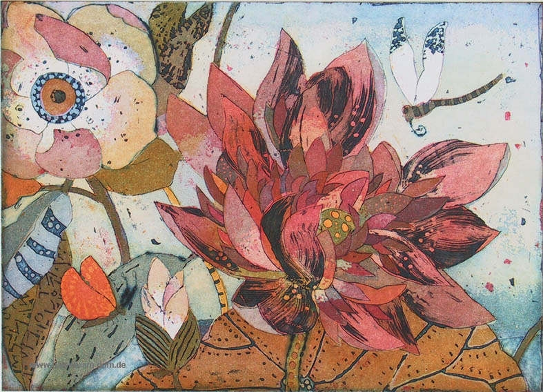 Rubinblüte
