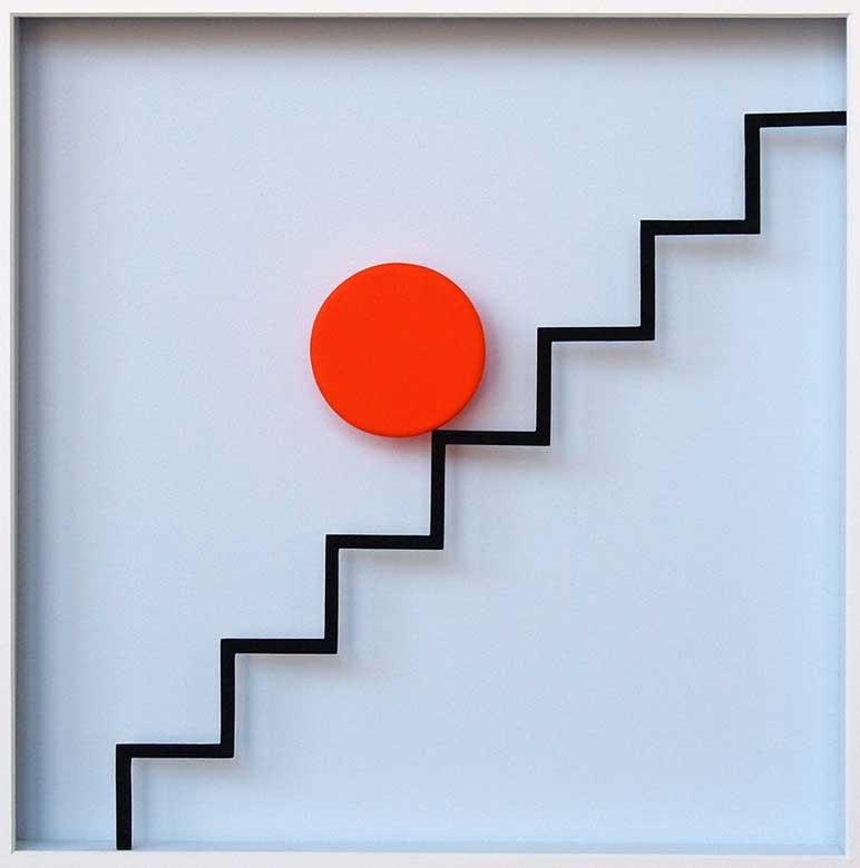 Punkt und Linie 10 (Treppe 1)