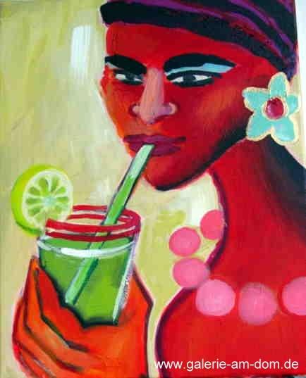 Cocktail mit Strohhalm 2005