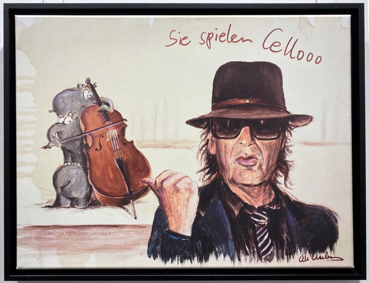 Sie spielen Cello II