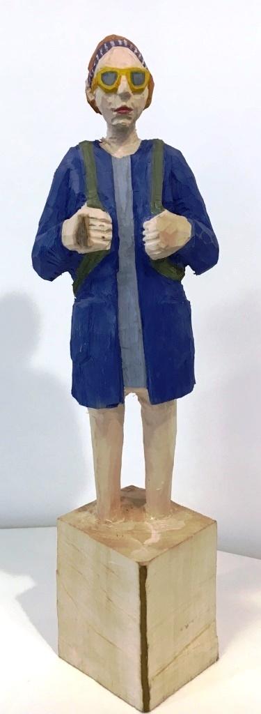 Edekafrau (1185) mit Brille