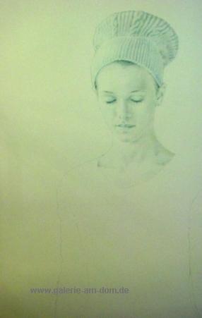 o.T. (Weibliches Portrait)