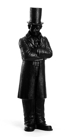 Kaspar Hauser - schwarz, signiert