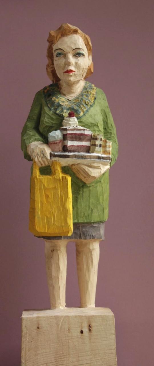 Edekafrau (879) Kuchenkauf