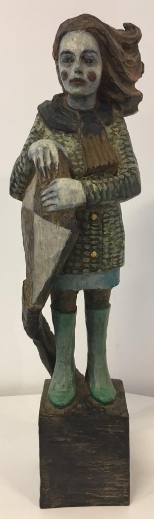 Drachenfrau Bronze 4/9