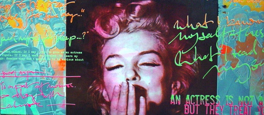 Marilyn Unikat (Kissing)