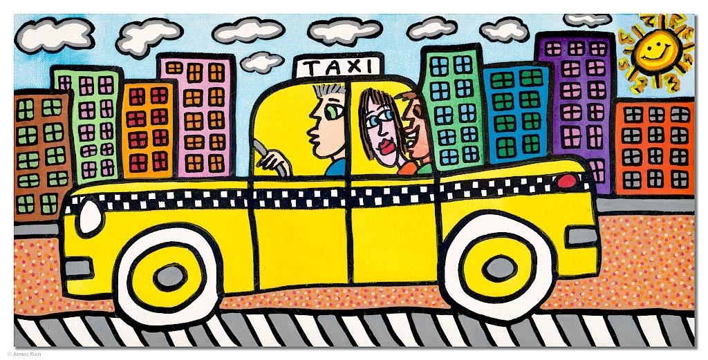 Taxi take us home Unikat