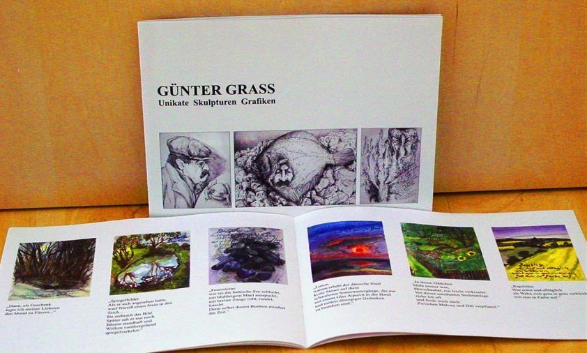 Katalog Günter Grass, Ausstellung 10. November - 10. Dezember 2006