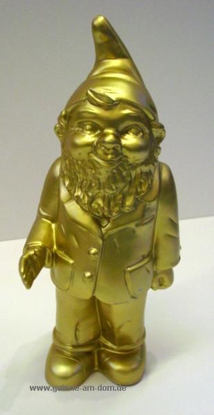 Welcome-Zwerg - gold