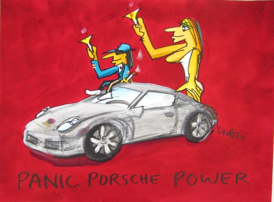 Panic Porsche Power 1