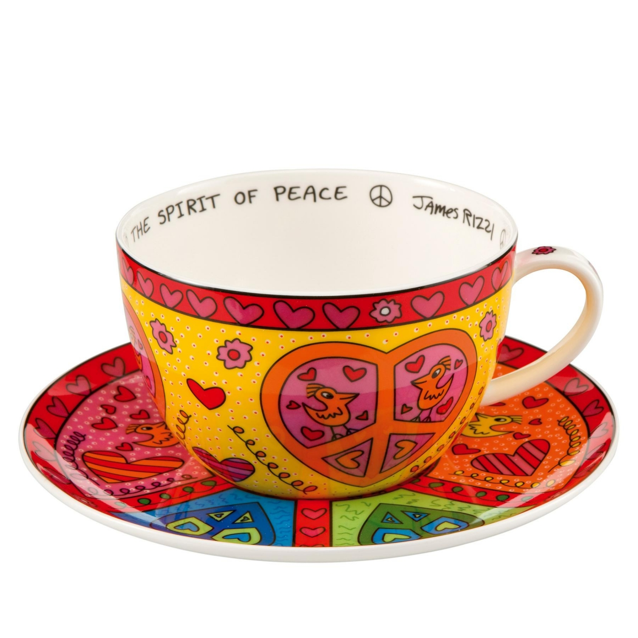 Cappuccino-Tasse: The Spirit of Peace