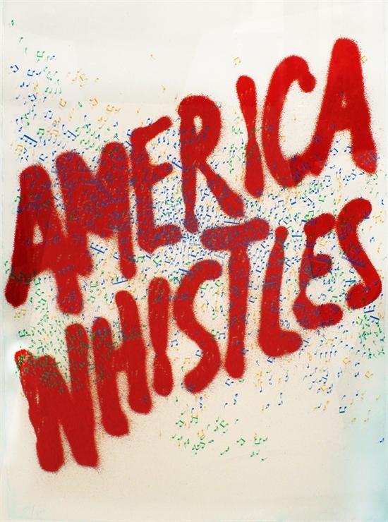 Ed Ruscha: America Whistles