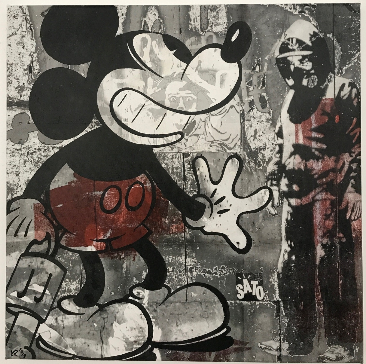 o.T. (Mickey Mouse)