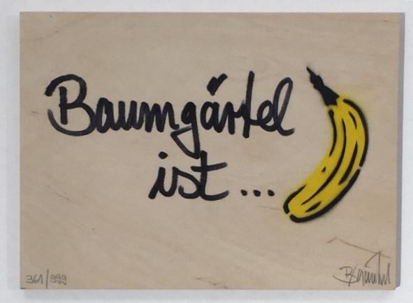 Baumgärtel ist Banane