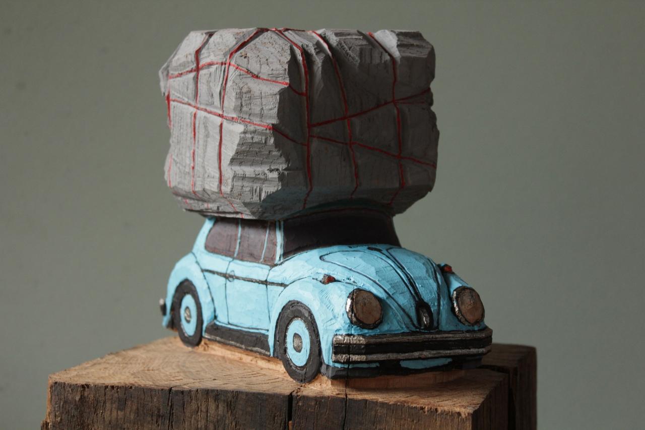 VW mit Bündel