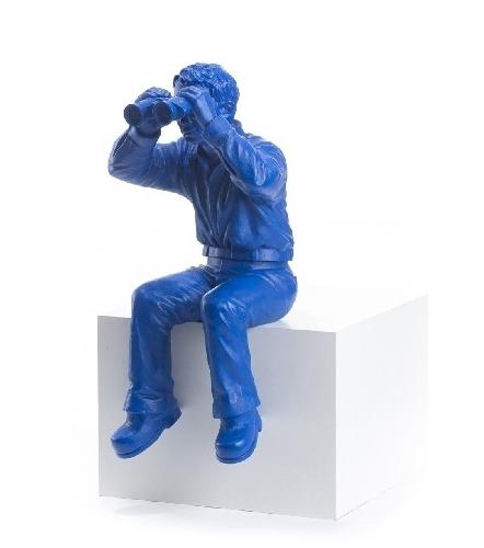 Weltanschauungsmodell IB - blau, signiert
