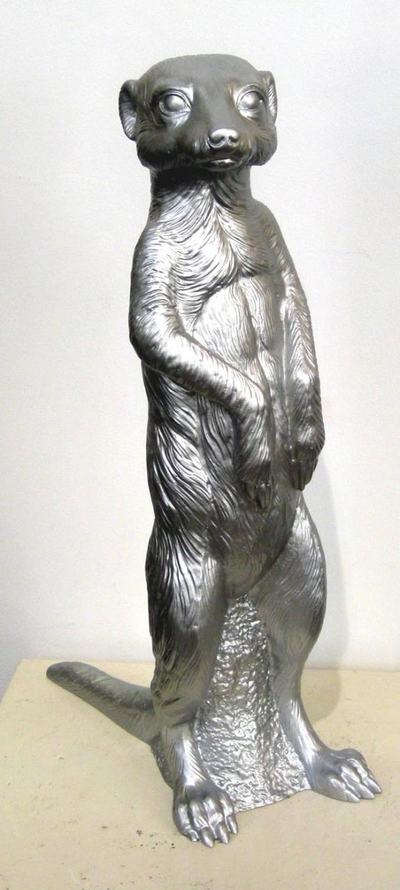 Erdmännchen - silber