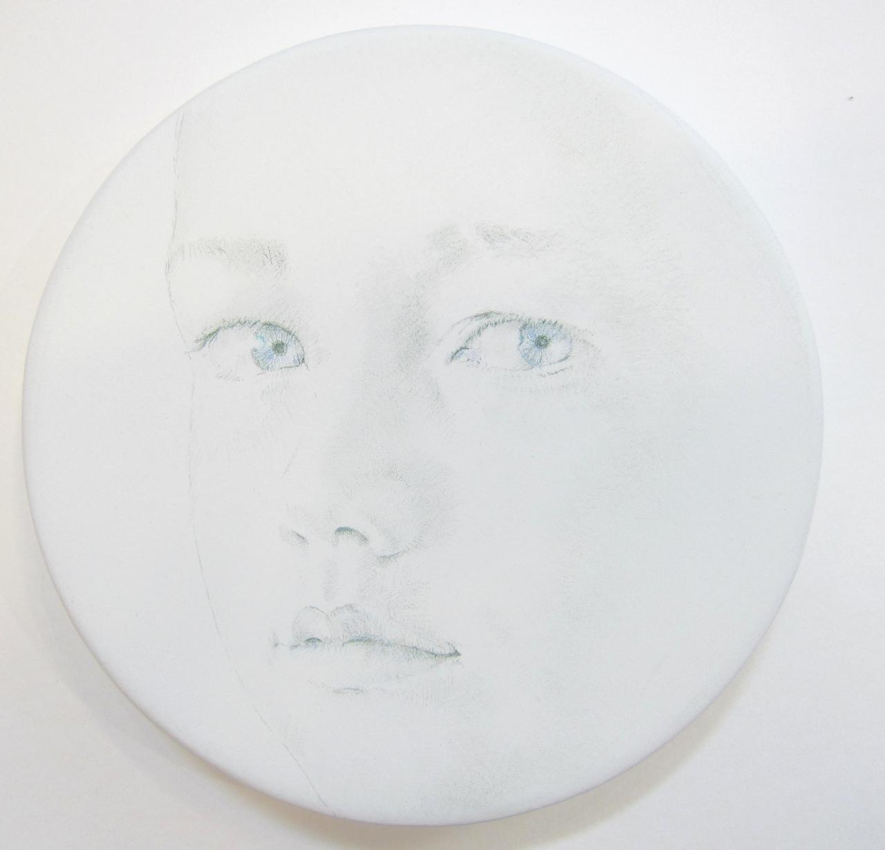 White Tondo No. 11