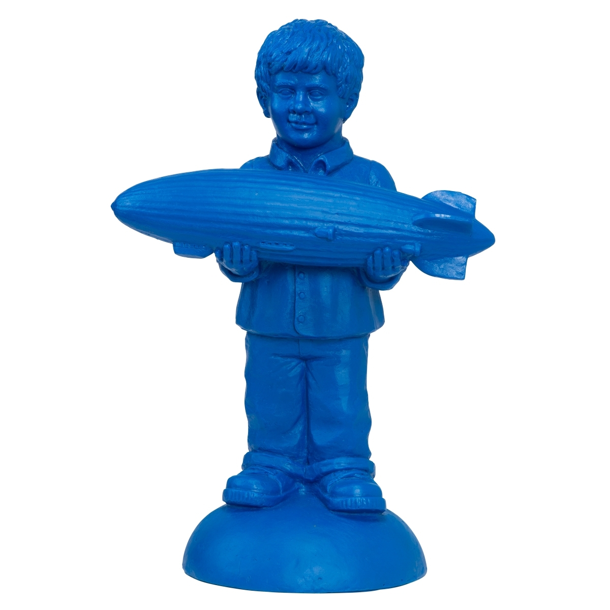 Zeppelin-Junge, blau - signiert