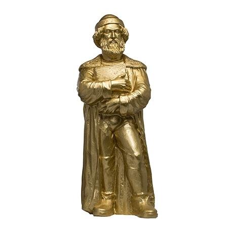 Johannes Gutenberg - 2018 - gold, signiert