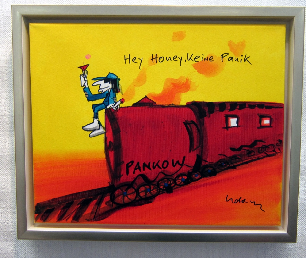 Hey Honey, keine Panik 13 auf Leinwand