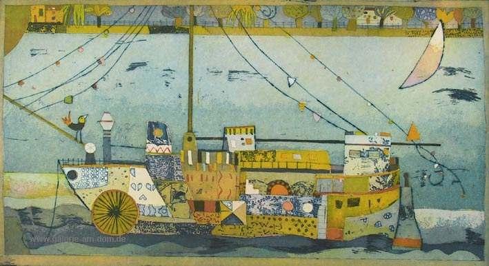 Träumendes Schiff
