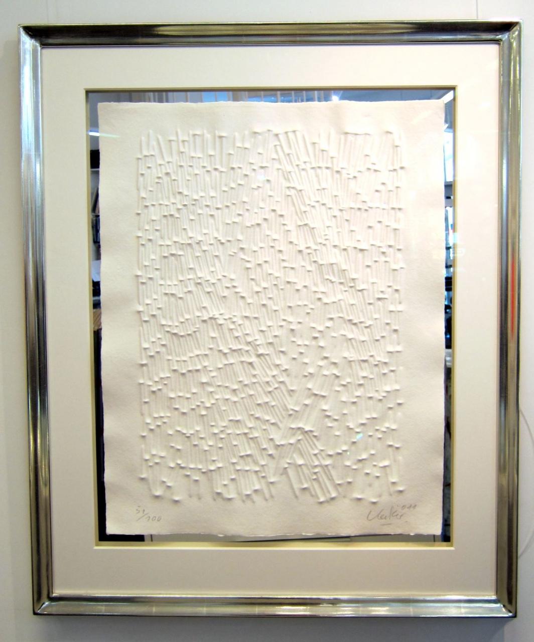 Strahlung 2011, im Vergolderrahmen