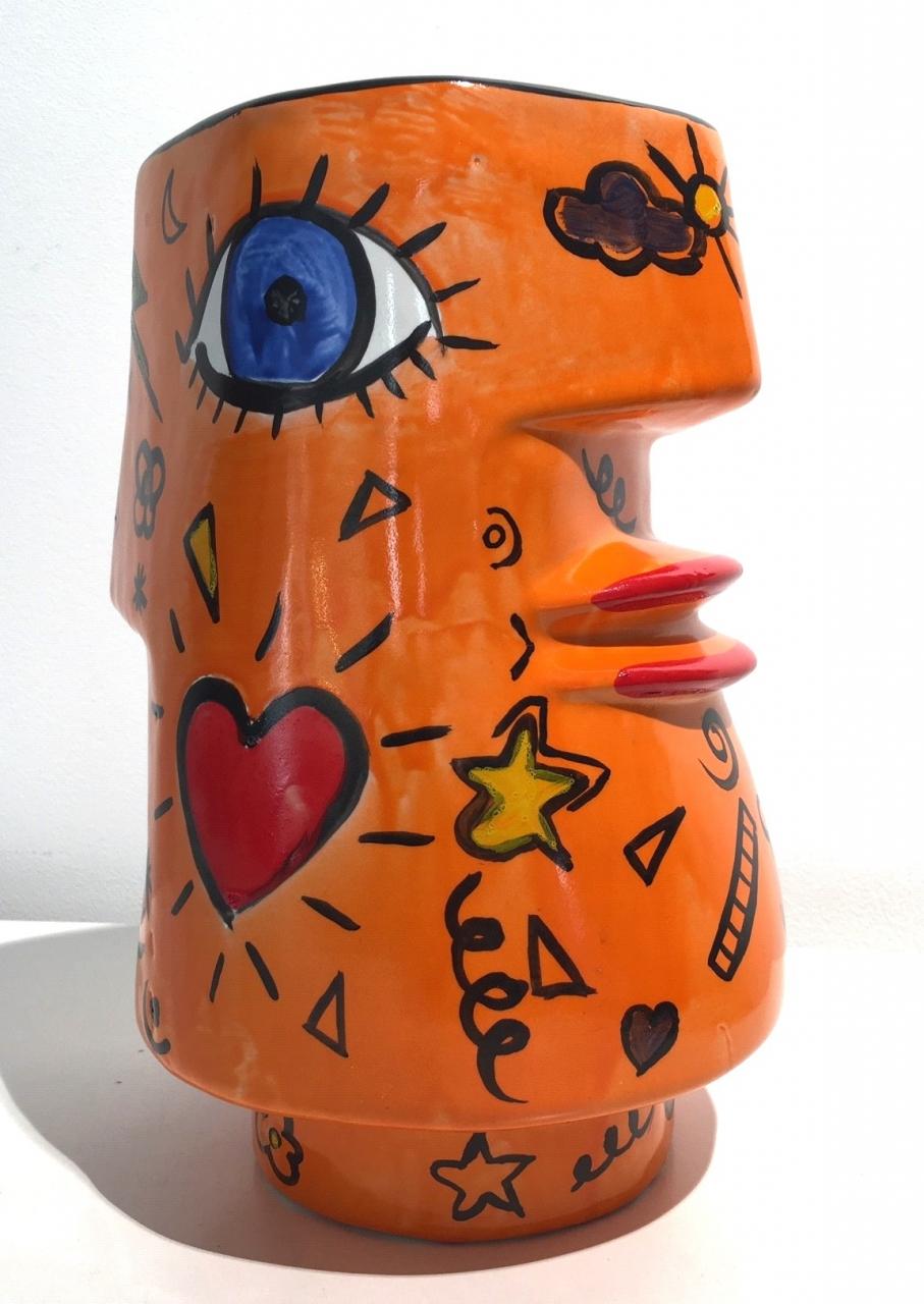 Janus Vase (orange)