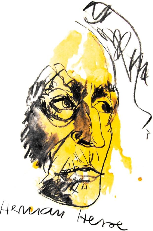 Porträt - Hermann Hesse