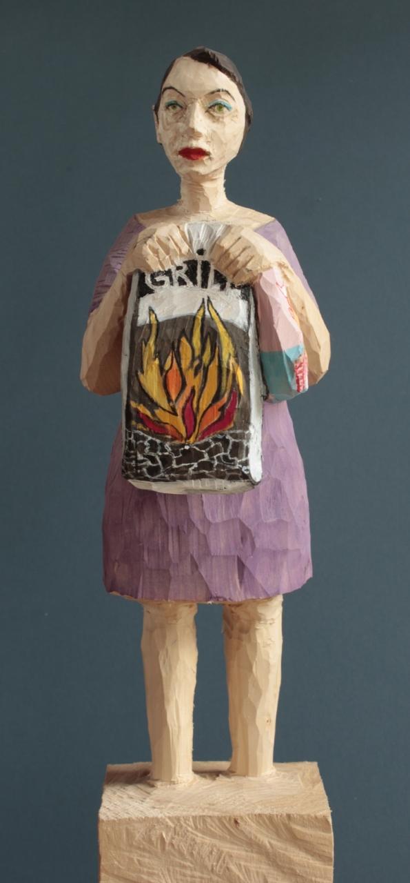 Edeka Frau (916) Grillerin