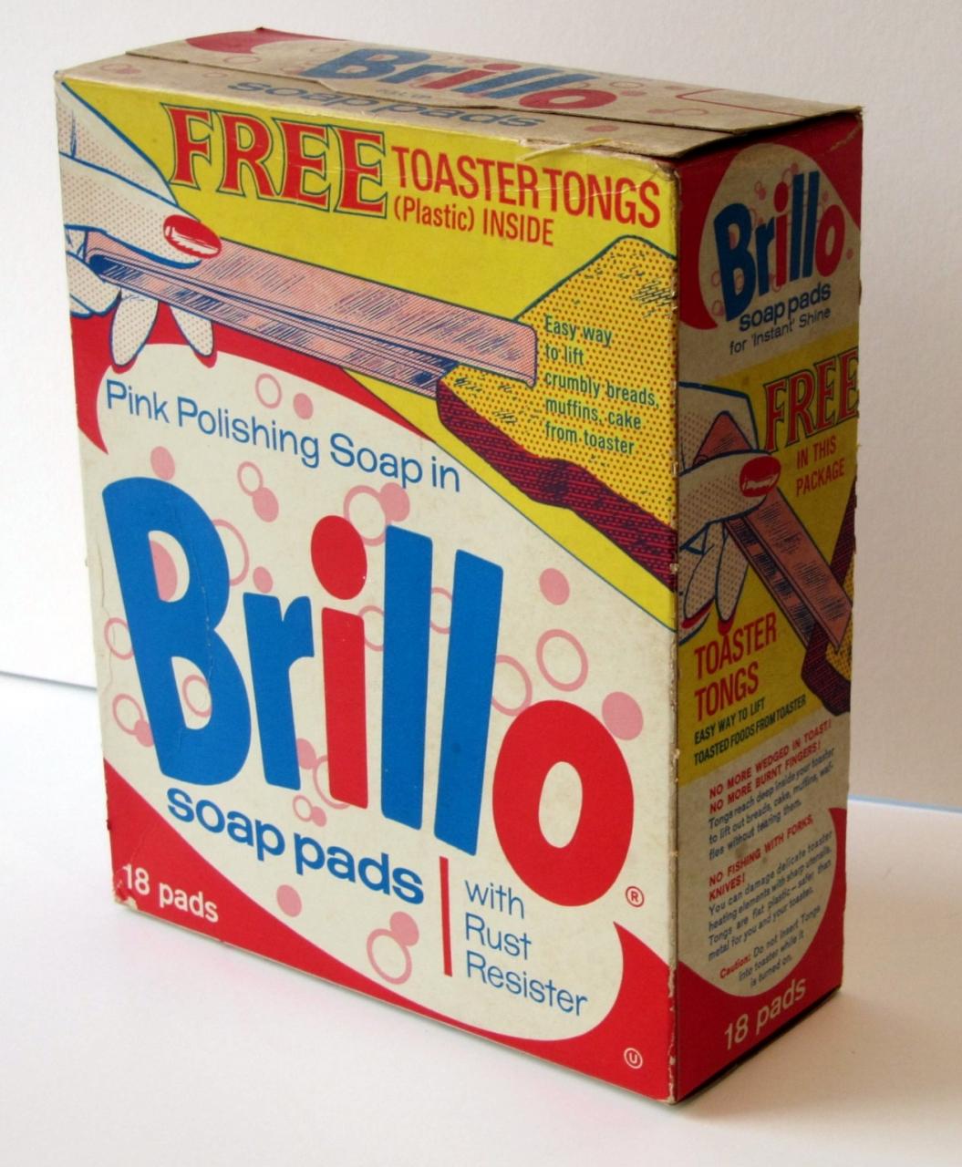 Andy Warhol: Brillo Box