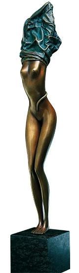 Zopf der Aphrodite (mit grünem Kleid)