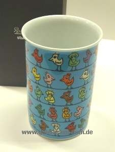 Vase: Birds