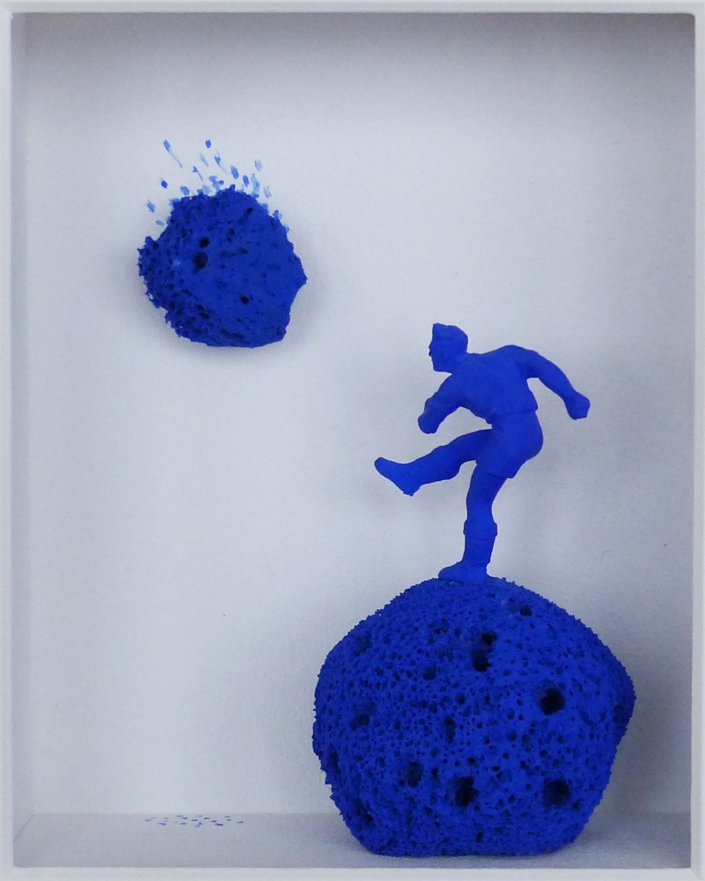 Yves Klein in action