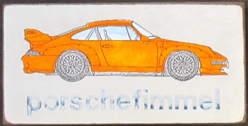 Porschefimmel Orange