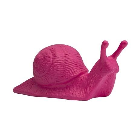 Avantgarde-Schnecke - pink, signiert