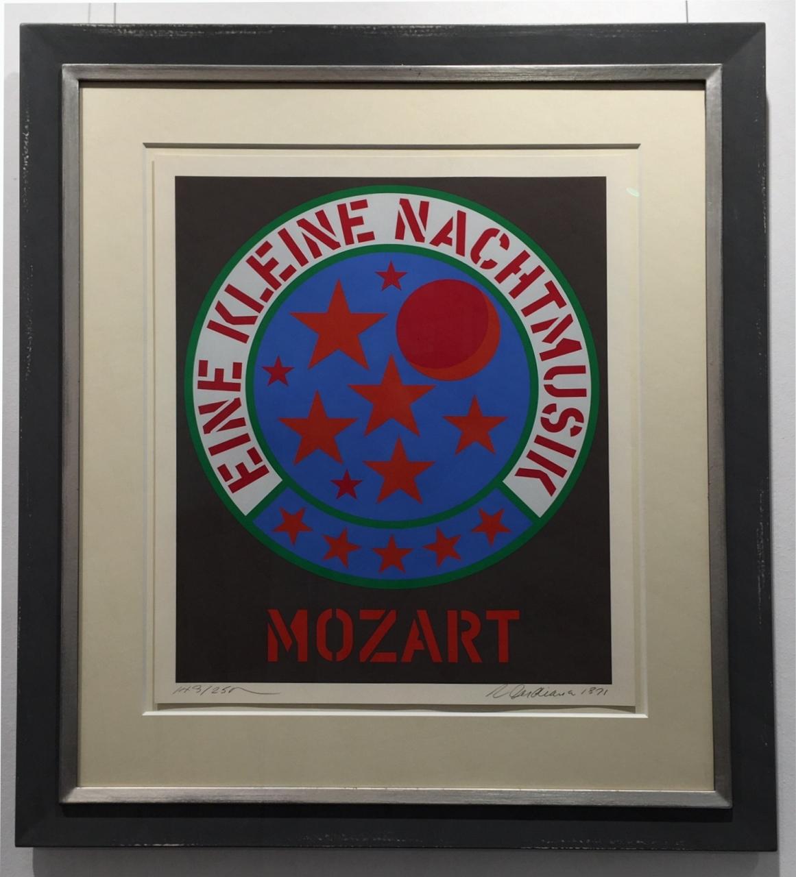 Mozart - Eine kleine Nachtmusik, gerahmt