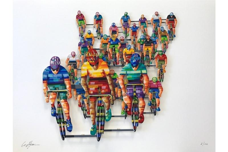 Tour de France - frontal (PAPER)