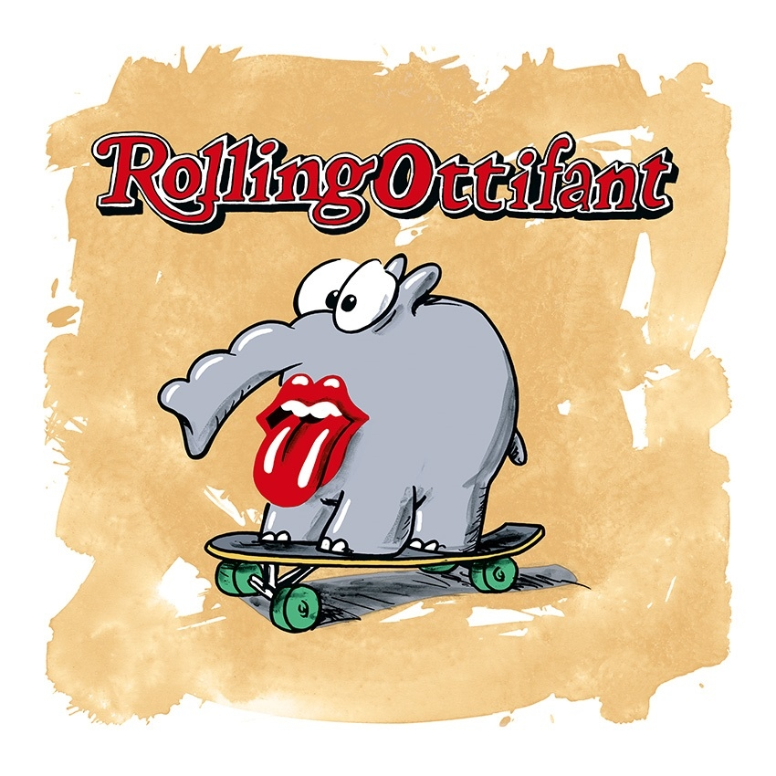 Rolling Ottifant