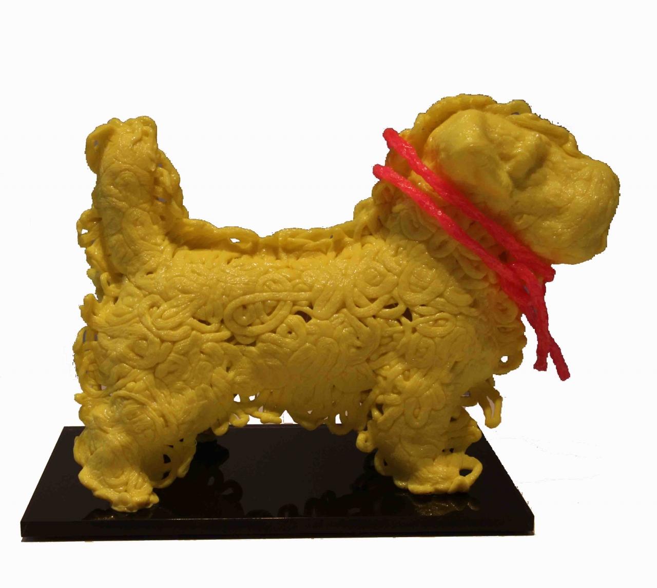 Hund Paul, gelb