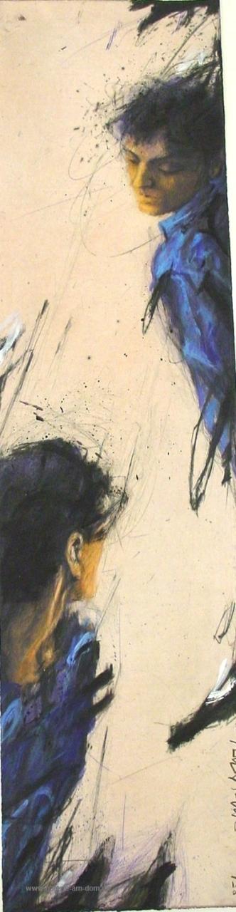 Umgucker in Blau