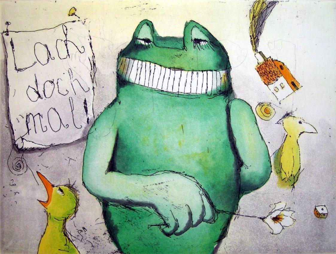 Lach doch Mal (Frosch und Haus)