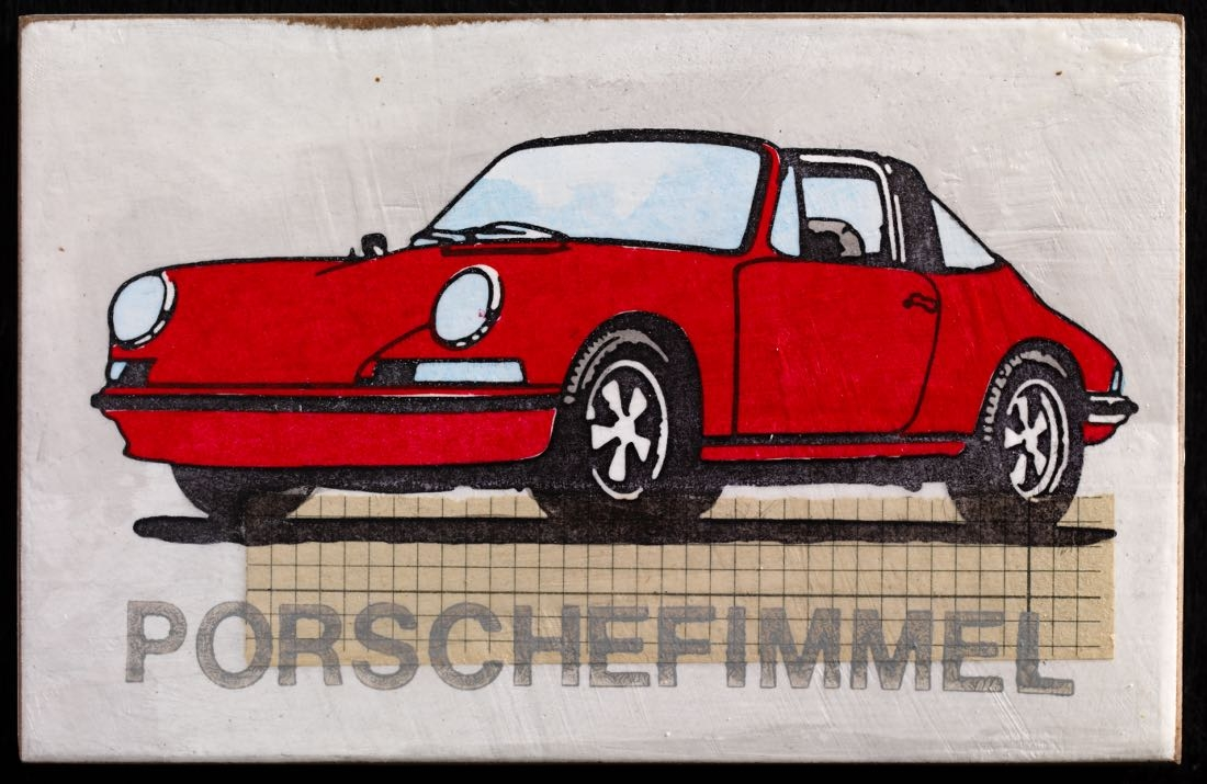 Porschefimmel - Krapp Targa links
