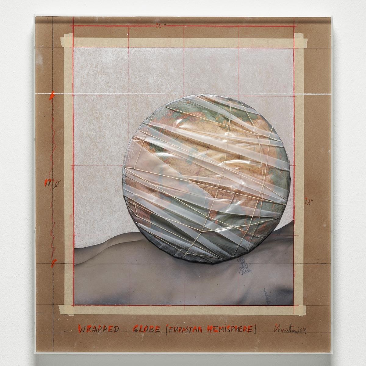 Wrapped Globe, 2019