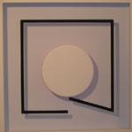 Punkt und Linie 7 (Quadrat offen)