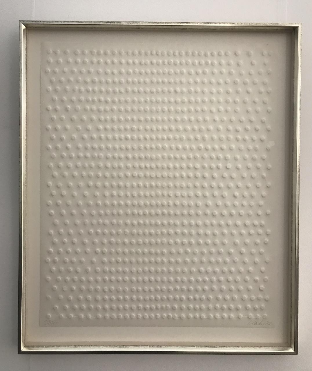 o. T. (Reihung) - Nagelköpfe 1973