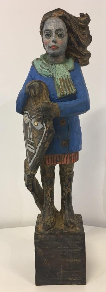 Drachenfrau Bronze 7/9