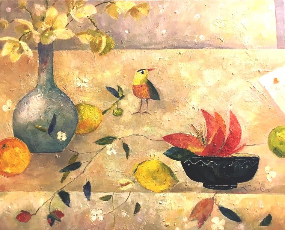 Kleiner Vogelbesuch