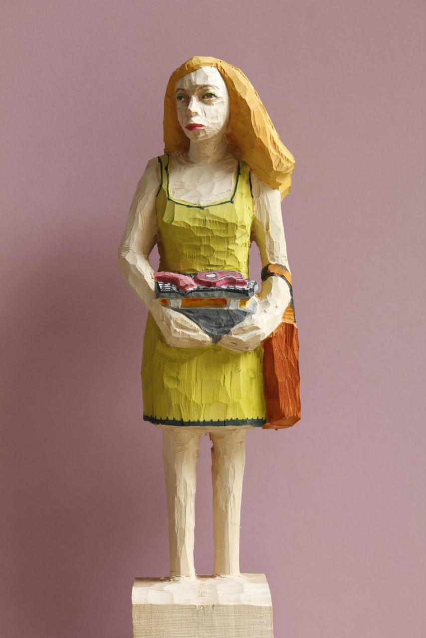 Edeka Frau (830) mit Grill