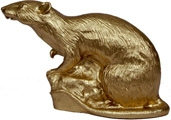 Ratte - gold